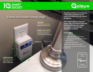 Qolsys IQ Smart Socket