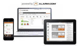 Stay Connected with Alarm.com